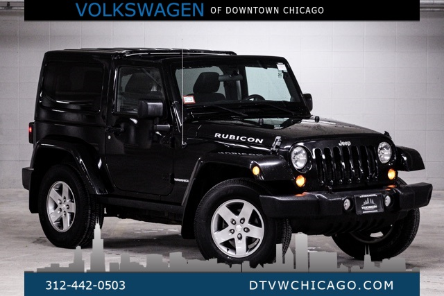 Pre-Owned 2012 Jeep Wrangler Rubicon 6SPD MANUAL/CLOTH SEATS/HARD TOP