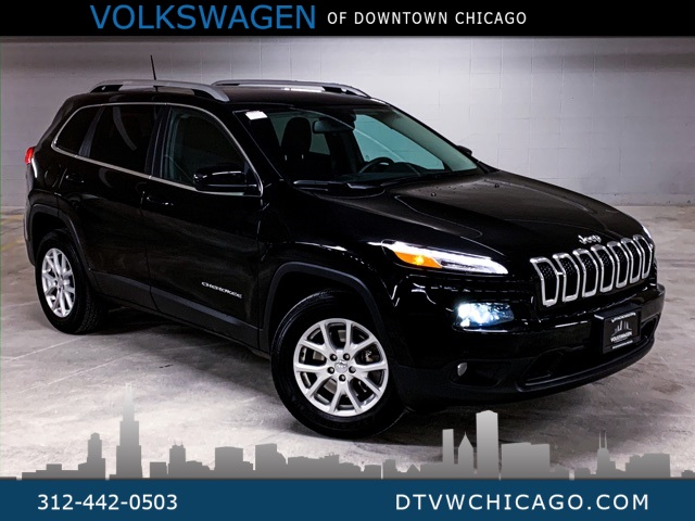 Pre-Owned 2017 Jeep Cherokee Latitude 4WD BLUETOOTH ALLOY WHEELS BACKUP CAMERA