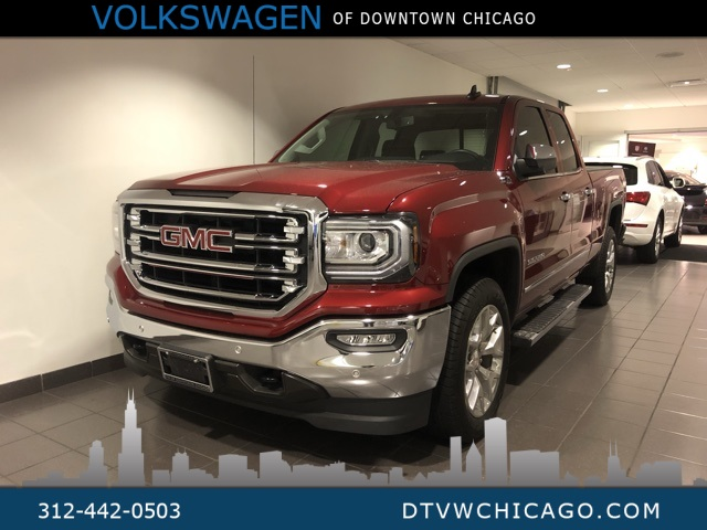 Pre-Owned 2018 GMC Sierra 1500 SLT 4WD Double Cab 143.5 Z71 Off Road Pkg