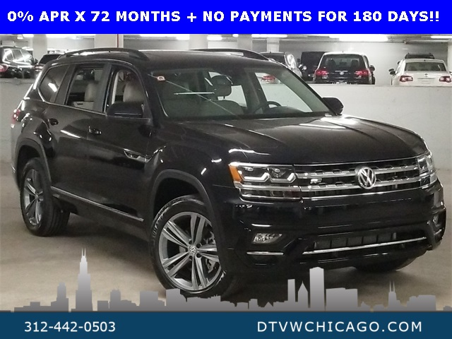 New 2020 Volkswagen Atlas 3.6L V6 SE w/Technology R-Line 4Motion