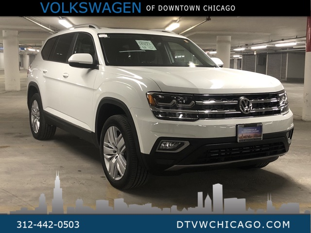 New 2019 Volkswagen Atlas SEL Captains Chairs 4Motion