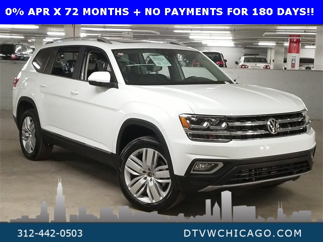 New 2020 Volkswagen Atlas SEL 4Motion