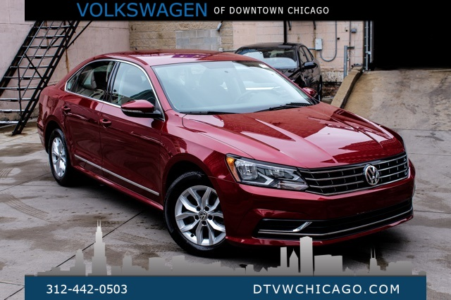Certified Pre-Owned 2017 Volkswagen Passat 1.8T S REAR CAMERA/BLUETOOTH/FRONT ASST/16
