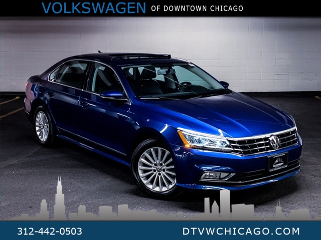 Certified Pre-Owned 2017 Volkswagen Passat 1.8T SE LIGHTING PACKAGE/REAR CAMERA/APP-CONNECT/SE