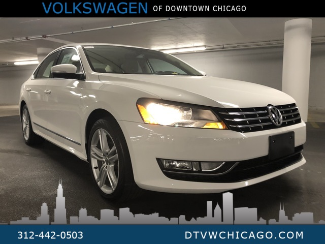 Pre-Owned 2014 Volkswagen Passat TDI SEL Premium Fully Loaded
