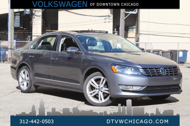 Certified Pre-Owned 2013 Volkswagen Passat TDI SEL Premium CERTIFIED 0% X 72 1 OWNER CLEAN CARFAX FULLY LOADE