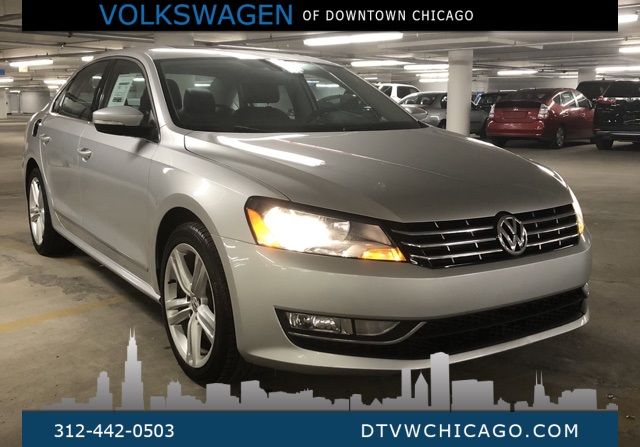 Pre-Owned 2013 Volkswagen Passat TDI SEL Premium Fully Loaded