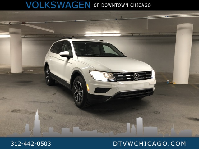 New 2019 Volkswagen Tiguan SE 4Motion Panoramic Sunroof & 3rd Row
