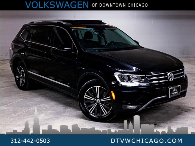 Certified Pre-Owned 2018 Volkswagen Tiguan 2.0T SEL 4Motion CAR-PLAY CONNECT/REAR CAMERA/NAVI/PANO ROO