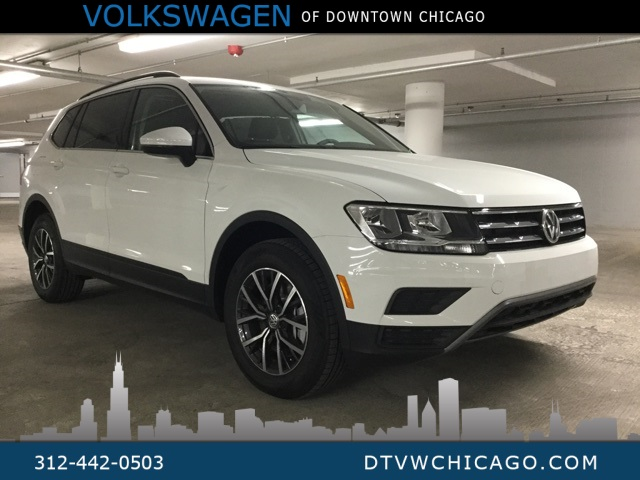 New 2019 Volkswagen Tiguan SE 4Motion Panoramic Sunroof/ 3rd Row/ RES