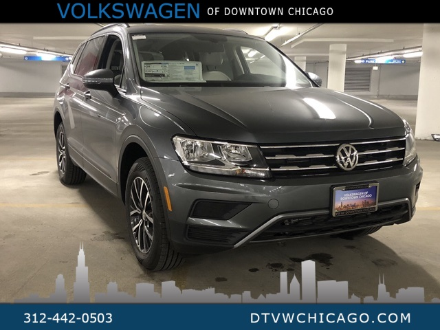 New 2019 Volkswagen Tiguan SE 4Motion 3rd Row