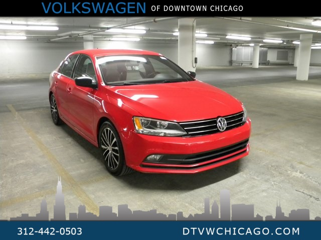 "Certified Pre-Owned 2016 Volkswagen Jetta 1.8T Sport Kessy/Navigation/17"" Alloys/Bluetooth"
