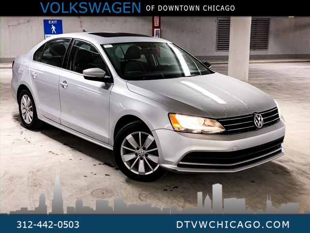 Certified Pre-Owned 2016 Volkswagen Jetta 1.4T SE APP-CONNECT/SUNROOF/REAR CAMERA/KESSY
