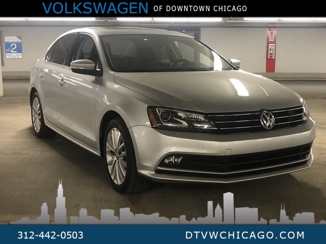 Certified Pre-Owned 2016 Volkswagen Jetta 1.8T SEL W/Lighting Pkg-Sunroof-Navigation-Kessy