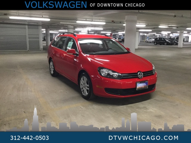 Pre-Owned 2014 Volkswagen Jetta SportWagen 2.0L TDI MANUAL