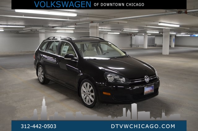 Pre-Owned 2014 Volkswagen Jetta SportWagen 2.0L TDI W/SUNROOF MANUAL