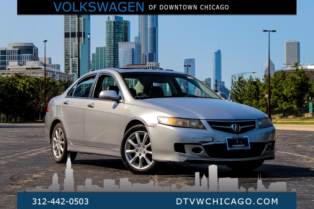 Pre-Owned 2008 Acura TSX Base Navigation