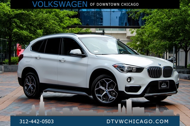 Pre-Owned 2019 BMW X1 xDrive28i CONVEINENCE PKG/PANO ROOF/HEATED SEATS & STEERING