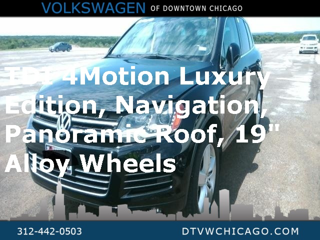 Pre-Owned 2012 Volkswagen Touareg V6 TDI Lux W/4 Motion Panoramic