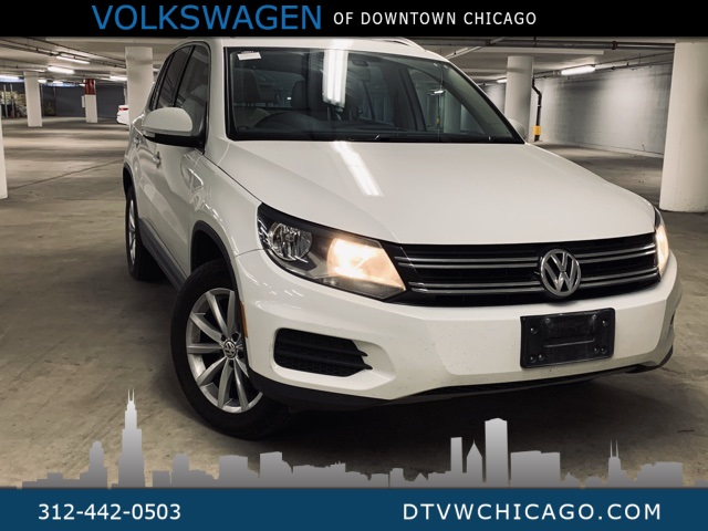 Certified Pre-Owned 2017 Volkswagen Tiguan Wolfsburg APP-CONNECT/KESSY/HEATED SEATS/PANOROOF