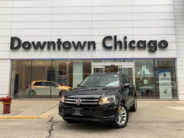 Certified Pre-Owned 2017 Volkswagen Tiguan Wolfsburg 4Motion CAR-PLAY CONNECT/PANO/REAR CAMERA
