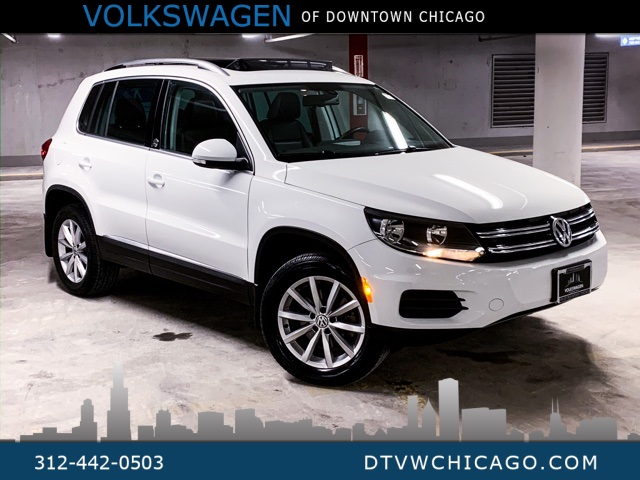 Certified Pre-Owned 2017 Volkswagen Tiguan Wolfsburg 4Motion SMART PHONE CARPLAY/REAR CAMERA/PANO ROOF