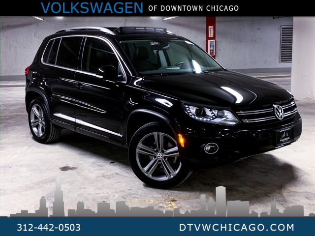Certified Pre-Owned 2017 Volkswagen Tiguan Sport 4Motion APP-CONNECT/NAVI/PANOROOF/REAR CAMERA