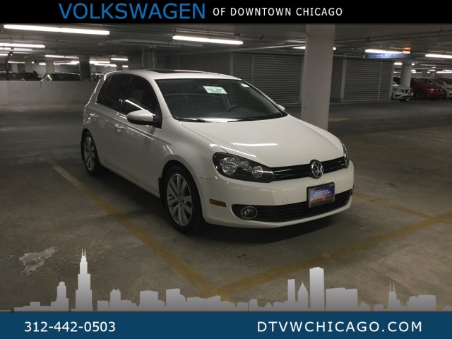 Pre-Owned 2012 Volkswagen Golf TDI MANUAL W/SUNROOF & NAV