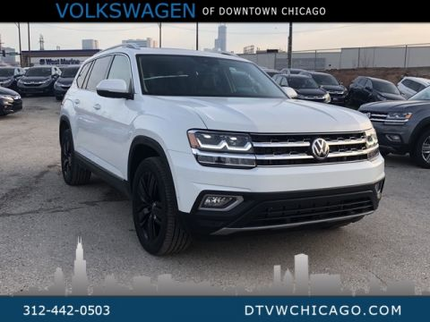 "New 2019 Volkswagen Atlas SEL Premium 4Motion 20"" Black Wheels"