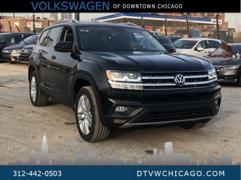 "New 2019 Volkswagen Atlas SE w/Technology 4Motion 20"" Silver Wheels"