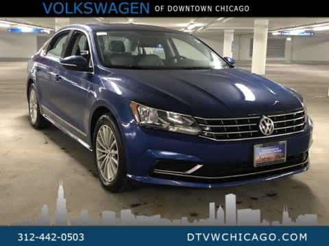 Certified Pre-Owned 2016 Volkswagen Passat 1.8T SE W/Sunroof,Adaptive Cruise, Front assist W/Autonomo