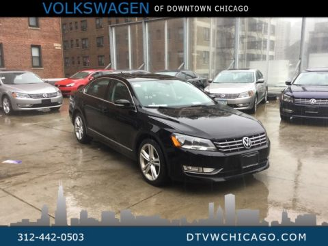 Pre-Owned 2012 Volkswagen Passat TDI SEL Premium Fully Loaded