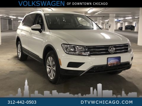 New 2019 Volkswagen Tiguan S 4Motion Drivers Assistance Pkg & 3rd Row