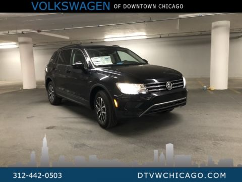 New 2019 Volkswagen Tiguan SE 4Motion Panoramic Sunroof & RES