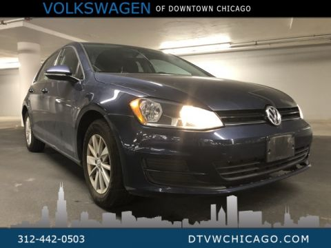 Pre-Owned 2015 Volkswagen Golf TSI S 4-Door BLUETOOTH/TOUCH SCREEN/CRUISE CONTROL/VW CAR-NET