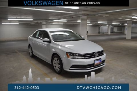Certified Pre-Owned 2017 Volkswagen Jetta 1.4T S BLUETOOTH.TOUCH SCREEN/APP-CONNECT/REAR CAMERA