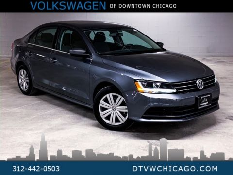 Certified Pre-Owned 2017 Volkswagen Jetta 1.4T S REAR CAMERA/ TOUCH SCREEN/BLUETOOTH/LOW MILES!