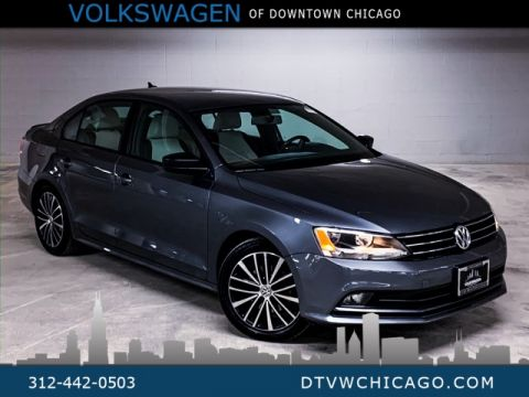Certified Pre-Owned 2016 Volkswagen Jetta 1.8T Sport APP-CONNECT/REAR CAMERA/PUSH TO START/NAVI