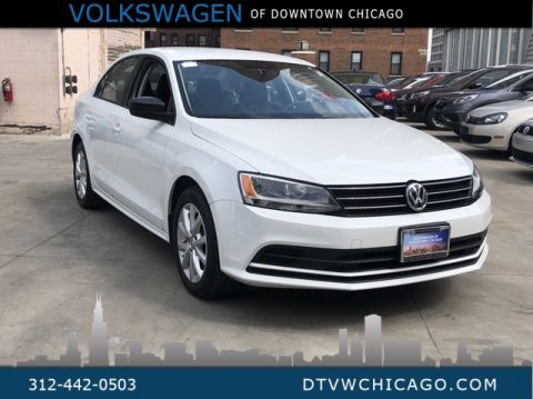 Certified Pre-Owned 2015 Volkswagen Jetta 1.8T SE W/Push button start-Alloys