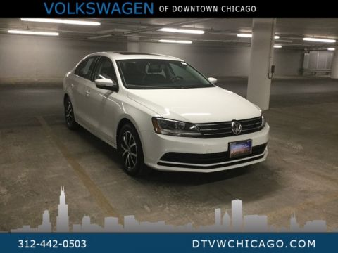 Certified Pre-Owned 2017 Volkswagen Jetta 1.4T SE Sunroof/Kessy/Heated Seats/Touch Screen