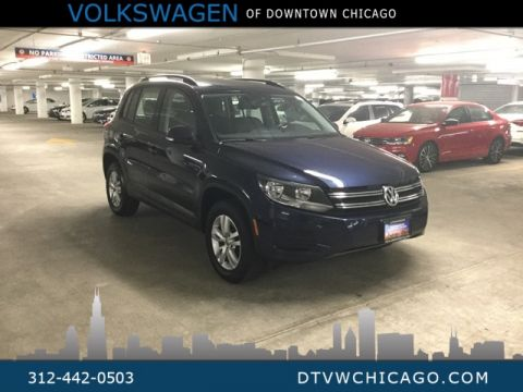Certified Pre-Owned 2016 Volkswagen Tiguan S KESSY/REAR CAMERA/BLUETOOTH/TOUCH SCREEN/HEATED SE