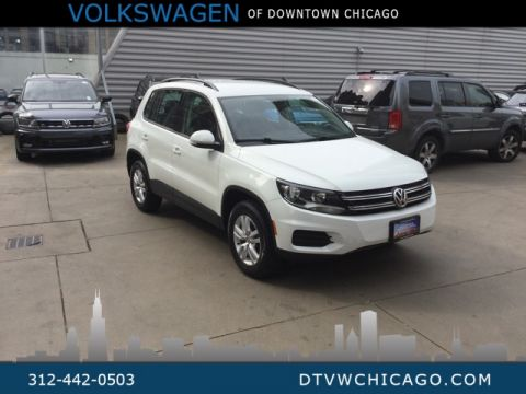 Certified Pre-Owned 2017 Volkswagen Tiguan S KESSY/BLUETOOTH/HEATED SEATS/ALLOY'S/LEATHER