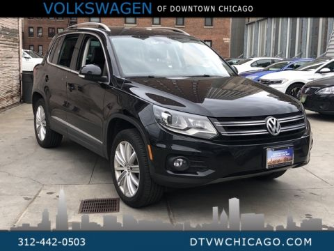 "Certified Pre-Owned 2016 Volkswagen Tiguan SE 4Motion W/Pano roof-Kessy-Nav,-18"" Alloys-Adaptive"