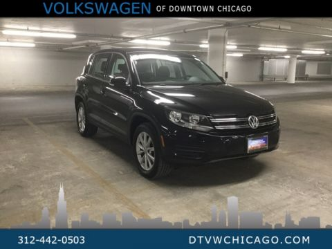 "Certified Pre-Owned 2017 Volkswagen Tiguan 2.0T 4Motion + LIMITED + 17"" ALLOY WHEELS + BLUETOOTH"