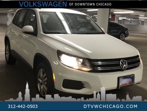 Certified Pre-Owned 2017 Volkswagen Tiguan S 4Motion KESSY/REAR CAMERA/BLUETOOTH/TOUCH SCREEN