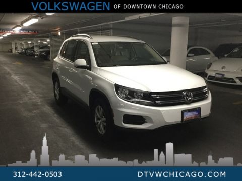 Certified Pre-Owned 2017 Volkswagen Tiguan S 4Motion KESSY/REAR CAMERA/TOUCH SCREEN/BLUETOOTH
