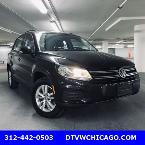 Certified Pre-Owned 2017 Volkswagen Tiguan S 4Motion Kessy/Rear Camera/Youch Screen/App-Connect