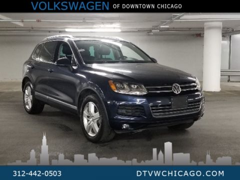 Pre-Owned 2012 Volkswagen Touareg V6 TDI Lux W/4MOTION, NAVIGATION, PANORAMIC SUNROOF