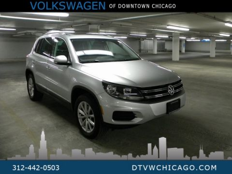 Certified Pre-Owned 2017 Volkswagen Tiguan Wolfsburg App-Connect/Bluetooth/Heated seats/Kessy