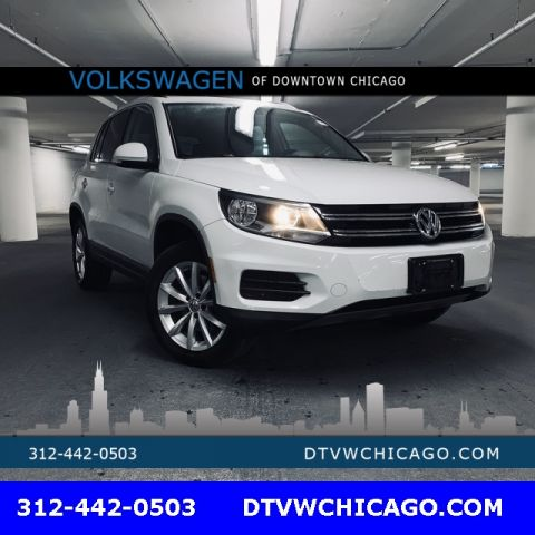 Certified Pre-Owned 2017 Volkswagen Tiguan Wolfsburg 4Motion Pano Roof-Kessy/App-Connect/Rear Camera/To